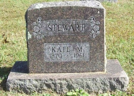 STEWART, KATE M. - Barry County, Missouri   KATE M. STEWART - Missouri Gravestone Photos
