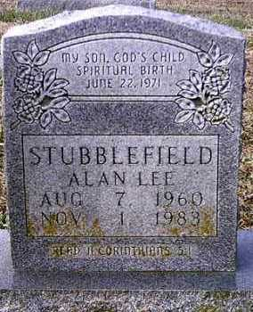 STUBBLEFIELD, ALAN LEE - Barry County, Missouri | ALAN LEE STUBBLEFIELD - Missouri Gravestone Photos