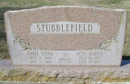 MARBUT STUBBLEFIELD, RUTH - Barry County, Missouri | RUTH MARBUT STUBBLEFIELD - Missouri Gravestone Photos