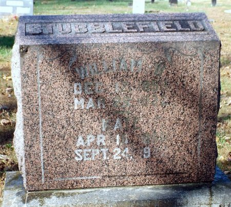 STUBBLEFIELD, WILLIAM WYATT - Barry County, Missouri | WILLIAM WYATT STUBBLEFIELD - Missouri Gravestone Photos