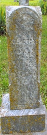 TEEL, GLADDES - Barry County, Missouri   GLADDES TEEL - Missouri Gravestone Photos