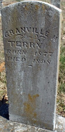 TERRY, GRANVILLE H. - Barry County, Missouri | GRANVILLE H. TERRY - Missouri Gravestone Photos
