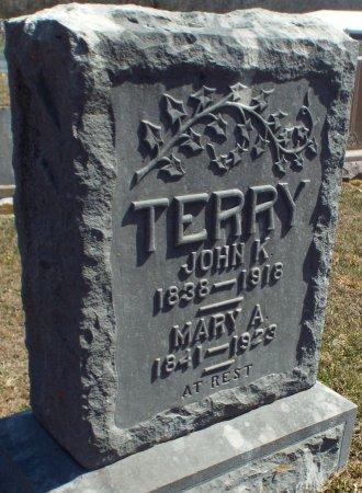 TERRY, JOHN KING (VETERAN CW) - Barry County, Missouri | JOHN KING (VETERAN CW) TERRY - Missouri Gravestone Photos