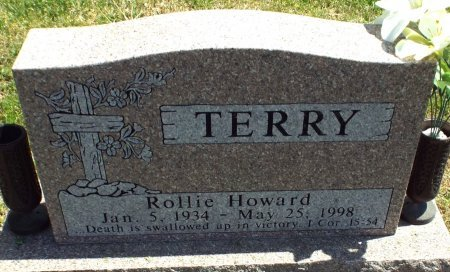TERRY, ROLLIE HOWARD  - Barry County, Missouri | ROLLIE HOWARD  TERRY - Missouri Gravestone Photos