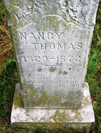 THOMAS, NANCY - Barry County, Missouri   NANCY THOMAS - Missouri Gravestone Photos