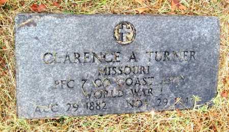 TURNER, CLARENCE ARTHUR - Barry County, Missouri   CLARENCE ARTHUR TURNER - Missouri Gravestone Photos