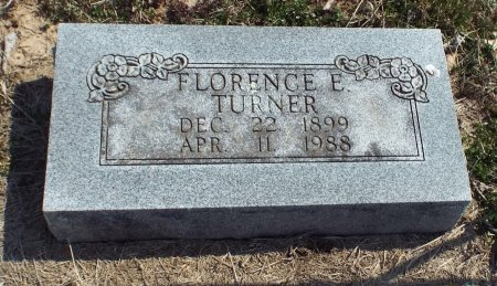 TURNER, FLORENCE E. - Barry County, Missouri | FLORENCE E. TURNER - Missouri Gravestone Photos