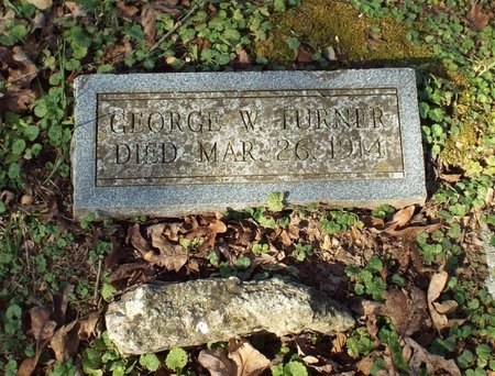TURNER, GEORGE WASHINGTON - Barry County, Missouri   GEORGE WASHINGTON TURNER - Missouri Gravestone Photos