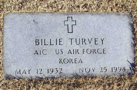 TURVEY, BILLIE VETERAN KOR - Barry County, Missouri | BILLIE VETERAN KOR TURVEY - Missouri Gravestone Photos