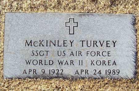 TURVEY, MCKINLEY VETERAN WWII KOR - Barry County, Missouri | MCKINLEY VETERAN WWII KOR TURVEY - Missouri Gravestone Photos