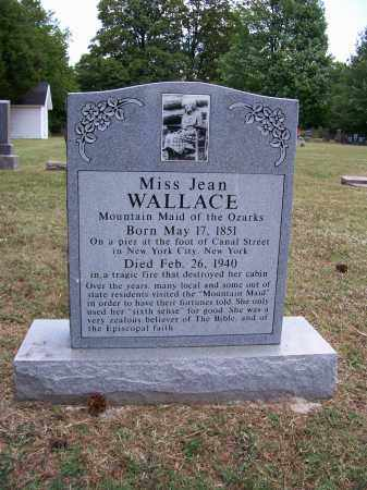 WALLACE, JEAN - Barry County, Missouri | JEAN WALLACE - Missouri Gravestone Photos