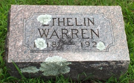 WARREN, ETHELIN - Barry County, Missouri | ETHELIN WARREN - Missouri Gravestone Photos