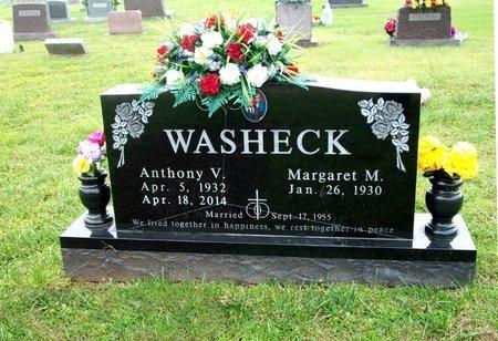 WASHECK, ANTHONY - Barry County, Missouri | ANTHONY WASHECK - Missouri Gravestone Photos