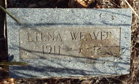 DAVIS WEAVER, NELLIE ETENA - Barry County, Missouri | NELLIE ETENA DAVIS WEAVER - Missouri Gravestone Photos