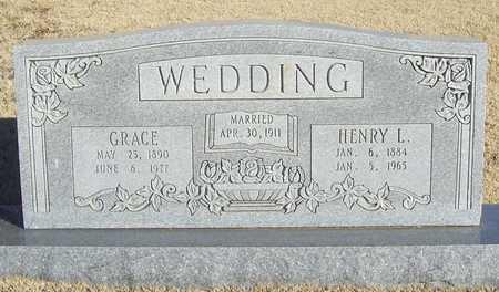 WEDDING, GRACE - Barry County, Missouri | GRACE WEDDING - Missouri Gravestone Photos