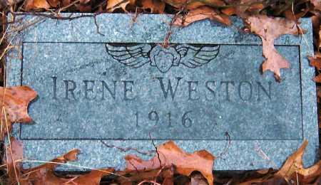 WESTON, IRENE - Barry County, Missouri | IRENE WESTON - Missouri Gravestone Photos