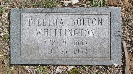 WHITTINGTON, DILETHA BOLTON - Barry County, Missouri   DILETHA BOLTON WHITTINGTON - Missouri Gravestone Photos