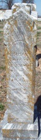 WHITTINGTON, SUSAN JANE - Barry County, Missouri | SUSAN JANE WHITTINGTON - Missouri Gravestone Photos