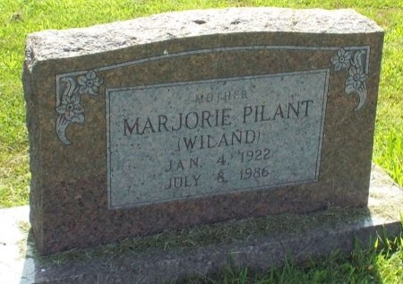 WILAND, MARJORIE  - Barry County, Missouri | MARJORIE  WILAND - Missouri Gravestone Photos