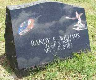WILLIAMS, RANDY E - Barry County, Missouri | RANDY E WILLIAMS - Missouri Gravestone Photos