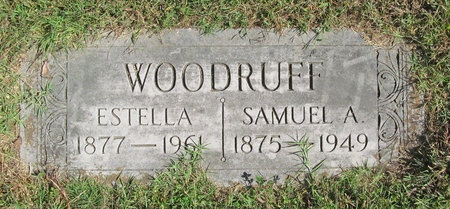 WOODRUFF, ESTELLA - Barry County, Missouri | ESTELLA WOODRUFF - Missouri Gravestone Photos