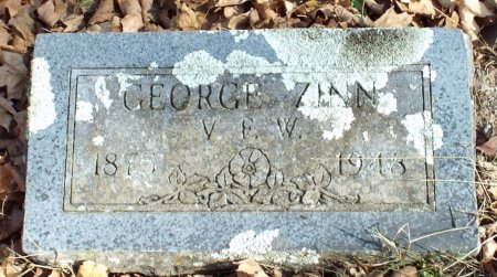 ZINN, GEORGE W. VETERAN WWI - Barry County, Missouri   GEORGE W. VETERAN WWI ZINN - Missouri Gravestone Photos