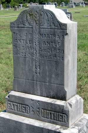 ANTLE, JOHN R REV - Barry County, Missouri | JOHN R REV ANTLE - Missouri Gravestone Photos