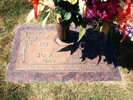 WILLET, JOANN - Barton County, Missouri   JOANN WILLET - Missouri Gravestone Photos