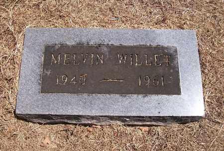 WILLET, MELVIN - Barton County, Missouri | MELVIN WILLET - Missouri Gravestone Photos