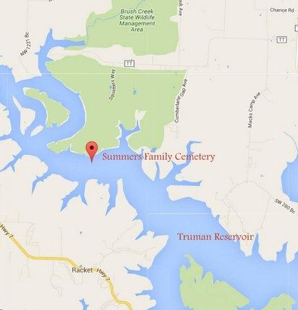 "SUMMER, ESTINA ""TINY"" - Benton County, Missouri | ESTINA ""TINY"" SUMMER - Missouri Gravestone Photos"