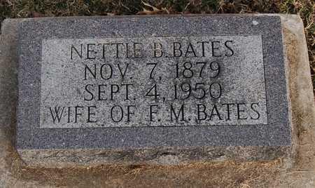 TOALSON BATES, NETTIE BELLE - Boone County, Missouri | NETTIE BELLE TOALSON BATES - Missouri Gravestone Photos