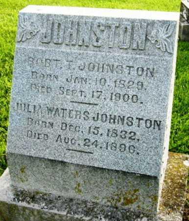 JOHNSTON, ROBERT T - Boone County, Missouri   ROBERT T JOHNSTON - Missouri Gravestone Photos