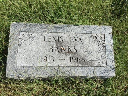 "CORDRY BANKS, LENIS ""LINNIE"" EVA - Buchanan County, Missouri | LENIS ""LINNIE"" EVA CORDRY BANKS - Missouri Gravestone Photos"