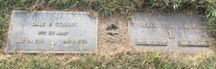 CORDRY, DALE EDWIN - Buchanan County, Missouri | DALE EDWIN CORDRY - Missouri Gravestone Photos