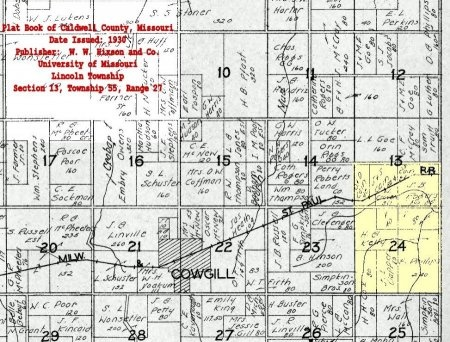 *, APPROXIMATE LOCATION - Caldwell County, Missouri | APPROXIMATE LOCATION * - Missouri Gravestone Photos