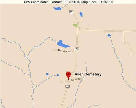 *, CEMETERY LOCATION - Callaway County, Missouri | CEMETERY LOCATION * - Missouri Gravestone Photos