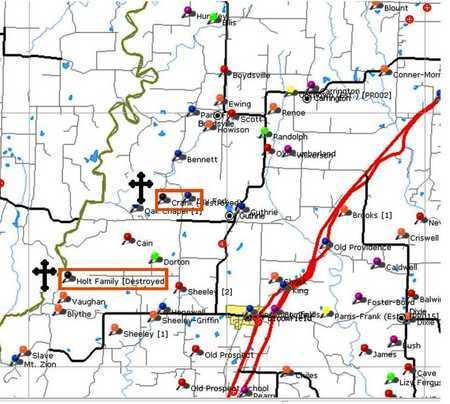 *, MAP - Callaway County, Missouri | MAP * - Missouri Gravestone Photos