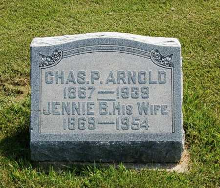 ARNOLD, CHARLES PLEASANT - Callaway County, Missouri | CHARLES PLEASANT ARNOLD - Missouri Gravestone Photos