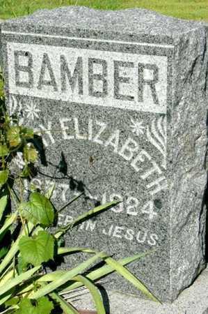 BAMBER, MARY ELIZABETH - Callaway County, Missouri | MARY ELIZABETH BAMBER - Missouri Gravestone Photos