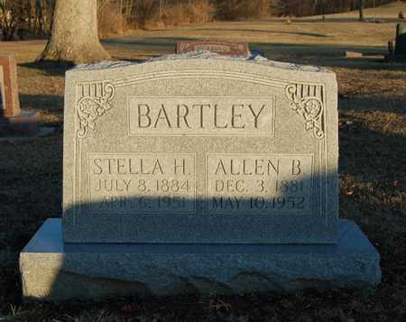 HOLMES BARTLEY, STELLA - Callaway County, Missouri | STELLA HOLMES BARTLEY - Missouri Gravestone Photos
