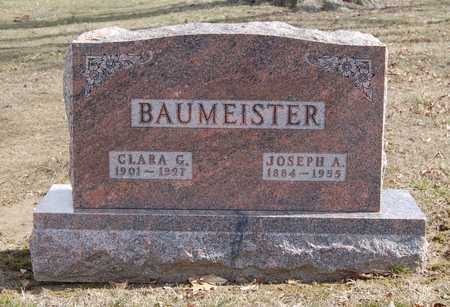 BAUMEISTER, JOSEPH ANDREW - Callaway County, Missouri | JOSEPH ANDREW BAUMEISTER - Missouri Gravestone Photos