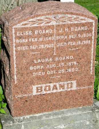 BOAND, ELISE - Callaway County, Missouri | ELISE BOAND - Missouri Gravestone Photos