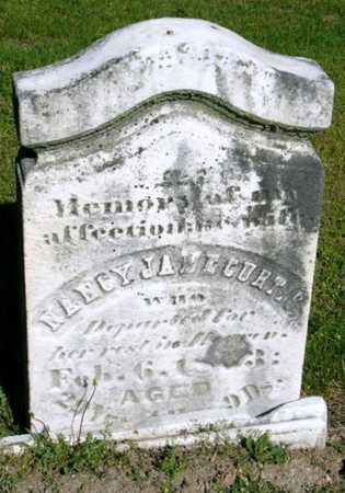 CURTIS, NANCY JANE - Callaway County, Missouri | NANCY JANE CURTIS - Missouri Gravestone Photos