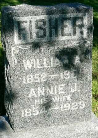 BAMBER FISHER, ANNIE JANE - Callaway County, Missouri | ANNIE JANE BAMBER FISHER - Missouri Gravestone Photos