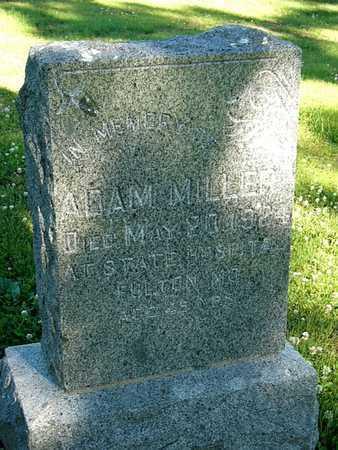 MILLER, ADAM - Callaway County, Missouri | ADAM MILLER - Missouri Gravestone Photos