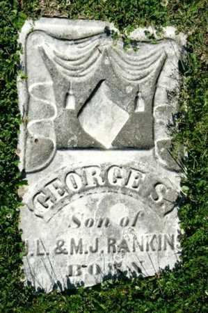 RANKINS, GEORGE S - Callaway County, Missouri   GEORGE S RANKINS - Missouri Gravestone Photos
