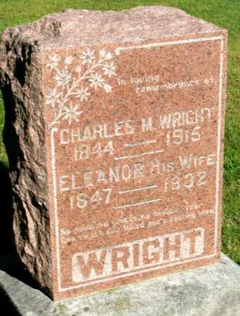 BAMBER WRIGHT, ELEANOR - Callaway County, Missouri | ELEANOR BAMBER WRIGHT - Missouri Gravestone Photos