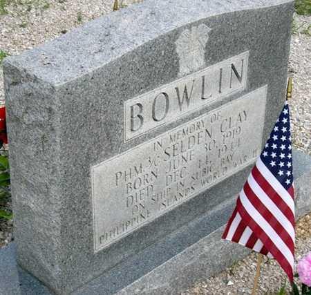 BOWLIN, SELDON CLAY VETERAN KIA - Camden County, Missouri | SELDON CLAY VETERAN KIA BOWLIN - Missouri Gravestone Photos