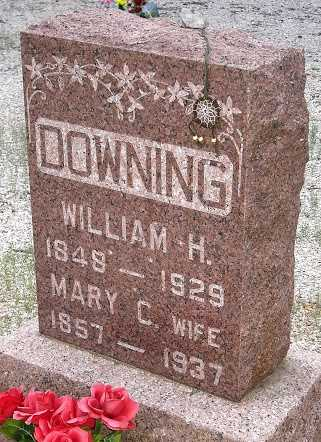 DOWNING, WILLIAM HARVEY - Camden County, Missouri | WILLIAM HARVEY DOWNING - Missouri Gravestone Photos