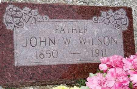 WILSON, JOHN W - Camden County, Missouri | JOHN W WILSON - Missouri Gravestone Photos